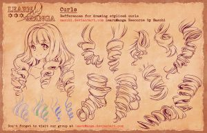 Learn Manga Basics Curls 4 Refference by Naschi