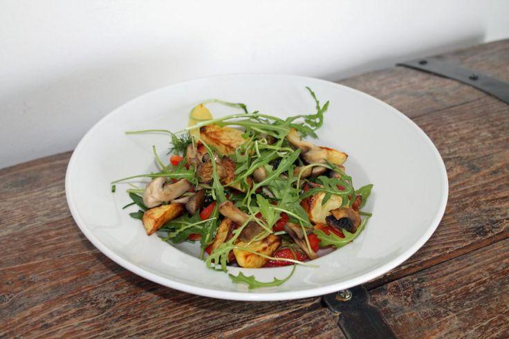 "Rezept: Backkartoffelsalat und Rezension ""La Veganista"" von Nicole Just"