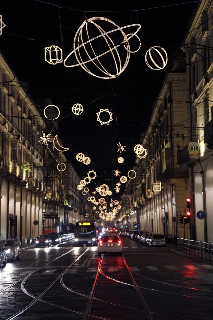 Christmas in Torino, Italy by Rob Bredow