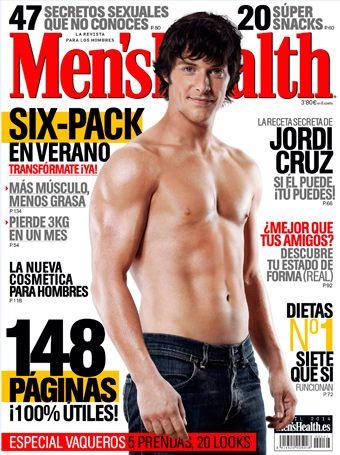 ¡Así luce Jordi Cruz en nuestra portada!