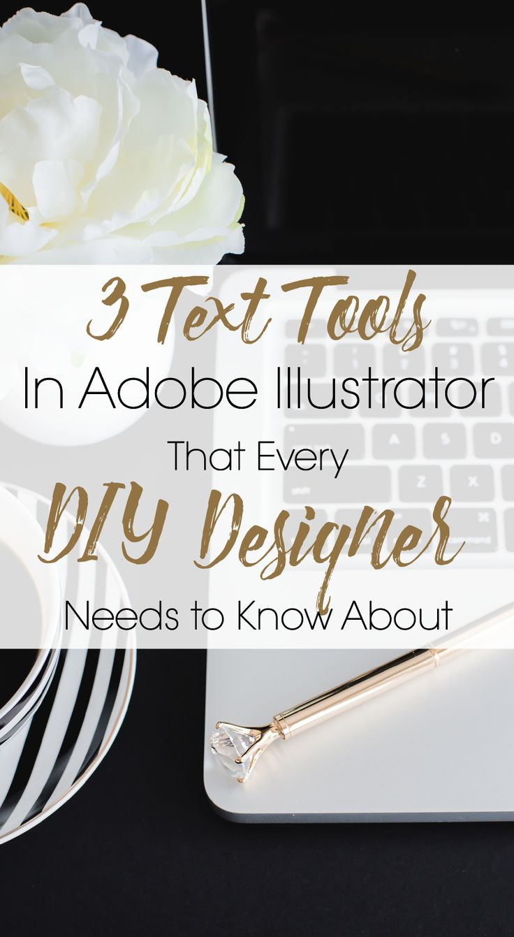 There's no other program that gives you more flexibility with letters and text than Adobe Illustrator. (Grab your FREE trial of Illustrator) Illustrator is a vector based software so you never have to worry about sizing and resolution because when you create a vector piece of artwork you can enlarge it as much as you want and it will never lose it's clarity.