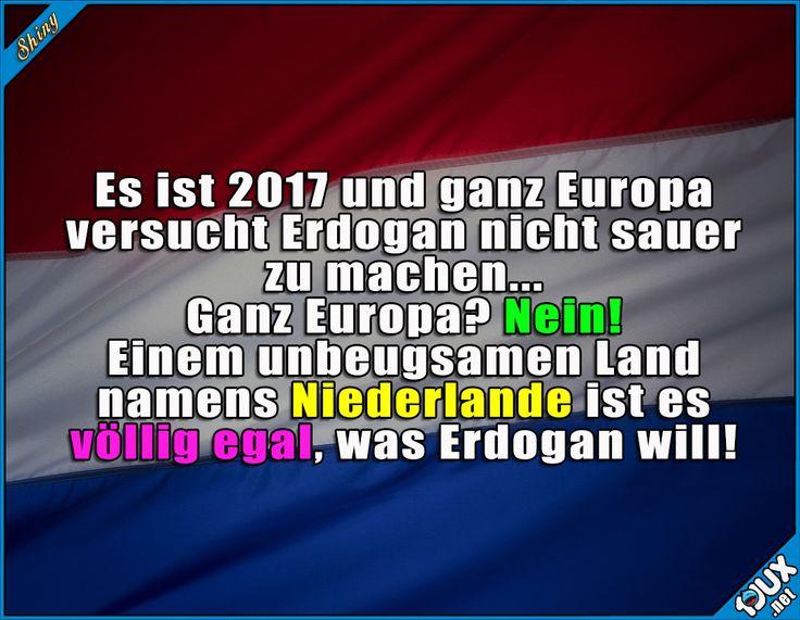 Der Punkt geht an die Niederlande! #Landeerlaubnis #Holland #Niederlande #Türkei #Außenmisnister #Erdogan #Nachrichten #Asterix