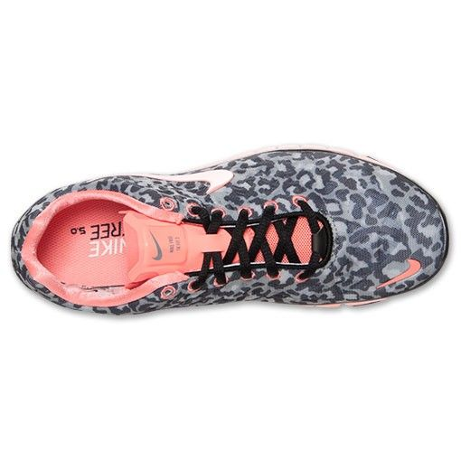 wholesale dealer d215d 45254 nike free 5.0 tr fit 3 print leopard black grey coral pink ...