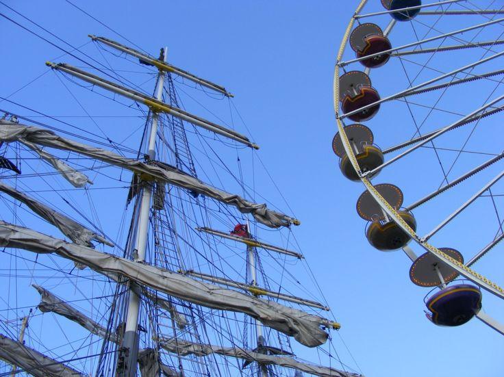 Impressionen von der Hanse Sail   Hanse Sail – hoch hinaus