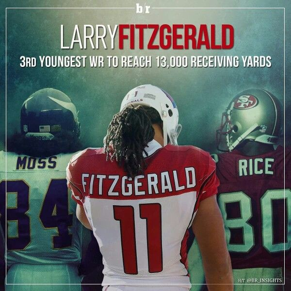 Congratulations to Larry Fitzgerald! @azcardinals #BirdGang 2015