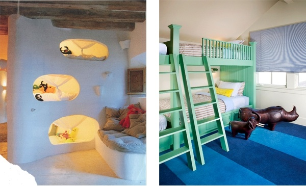 Cubby Hole Bunk Beds From Nyt Design Custom Green Bunk
