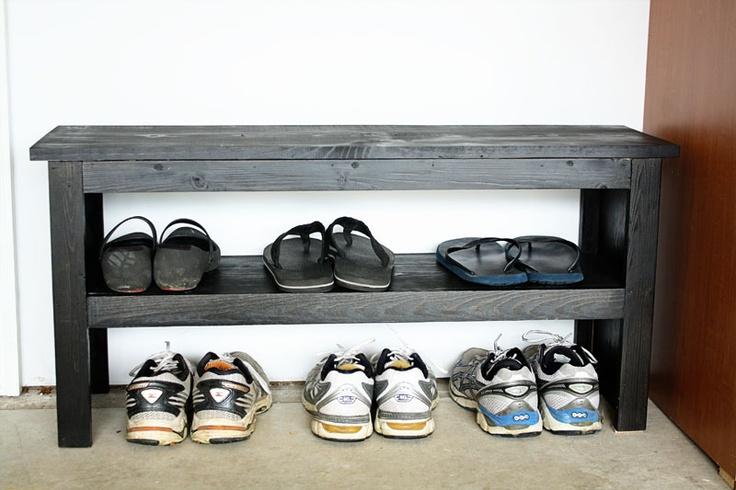 room*6: DIY Shoe Bench