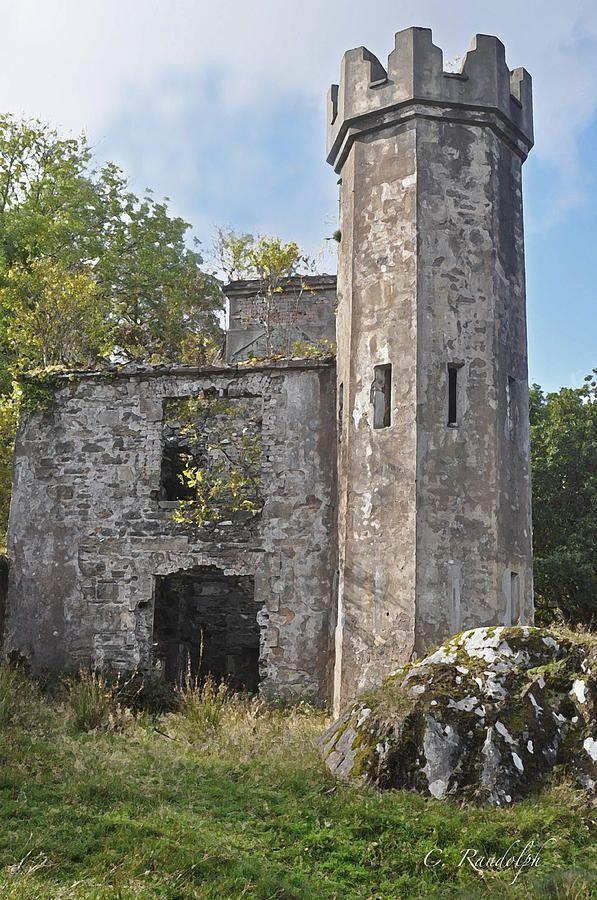 Castle Tower Photograph   Elvish Residences   Tower ...