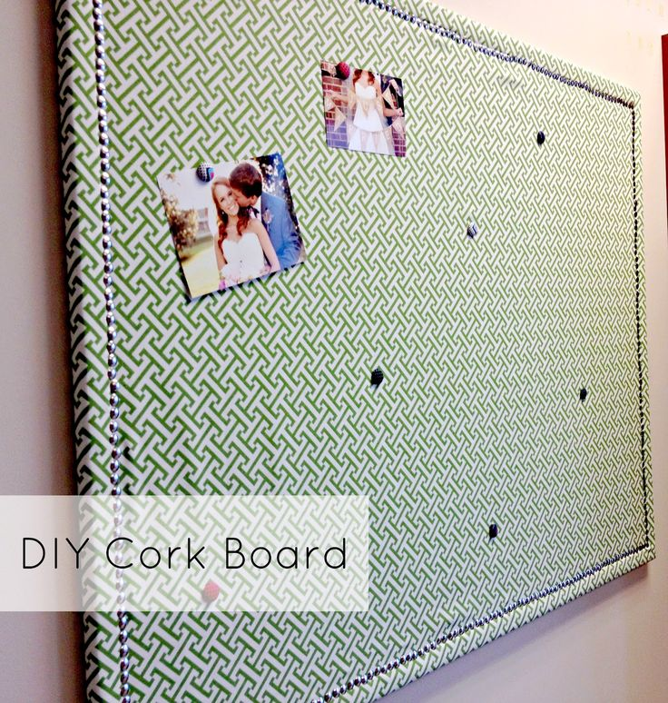 Best 25 diy cork board ideas on pinterest corkboard for Diy fabric bulletin board ideas