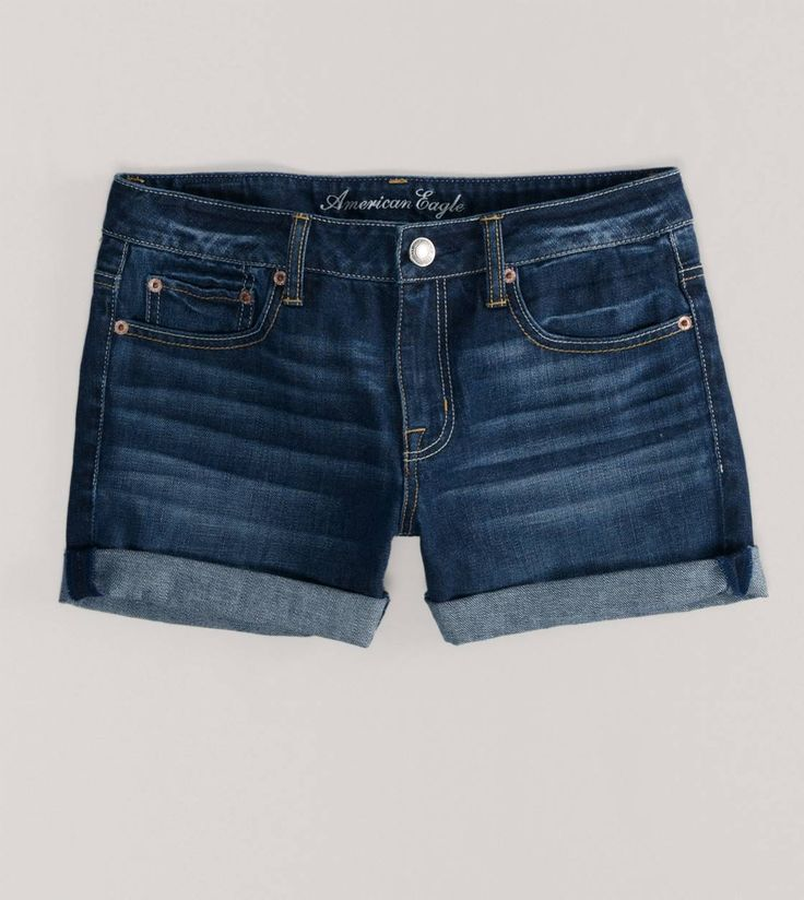 AE Denim Boy Fit Midi Short - Cute mid length shorts that aren't those skanky butt showing kind!
