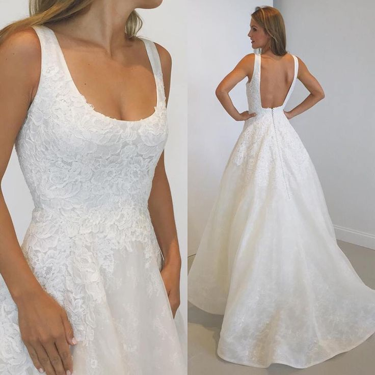 another weekend with Anne Barge is one well spent!! this is Monceau, a dreamy, scoop neck ball gown!