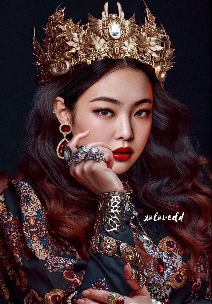 Queen of Almeta Lizkook Gadis fantasi, Gaya rambut