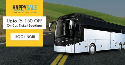 Pack Your Bag Today! Book Bus Tickets & Get Unbelievable #Discounts On Tickets! https://happysale.in/bus-booking/#SaveKaroHappyRaho