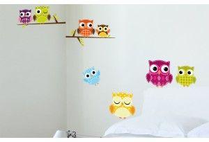 Hauskat pöllötarrat piristävät huoneen ilmettä