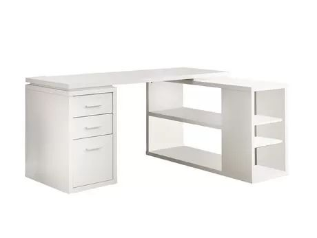 Monarch White Hollow-Core Corner Desk for sale at Walmart Canada. Buy Furniture online at everyday low prices at Walmart.ca