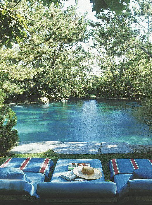 Love this one, looks like a creek!  - 8 Exquisite Pools That Are Simply Perfection – One Kings Lane — Our Style Blog