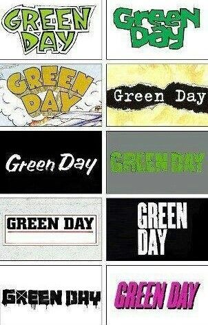 GREEN DAY (39/smooth, Kerplunk, dookie, Insomniac, Nimrod, Warning, Shenanigans, American Idiot, 21st Century Breakdown, !Uno!/¡Dos!/¡Tré!)