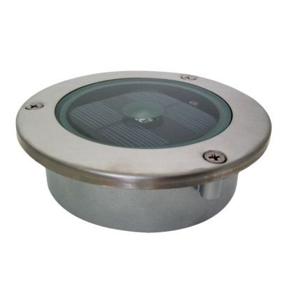 Solar Step Light: ideal for illuminating driveways, walkways, outdoor pool areas & steps. Place it in the ground or install it on a deck.