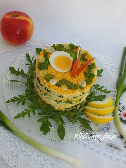 Aleda konyhája: Mimózasaláta