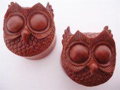 Urban Star Night Owl Plugs (2 gauge - 1 inch)