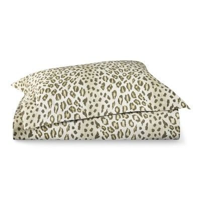 Printed Cheetah Bedding, Camel #williamssonoma