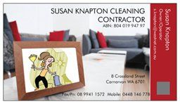 SUSAN KNAPTON CLEANING CONTRACTOR