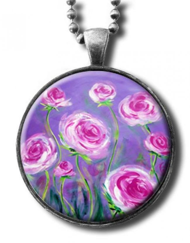 Enter to win: Pink Peonies Pendant by Ia | http://www.dango.co.nz/pinterestRedirect.php?u=cNZwe4NYJup4303