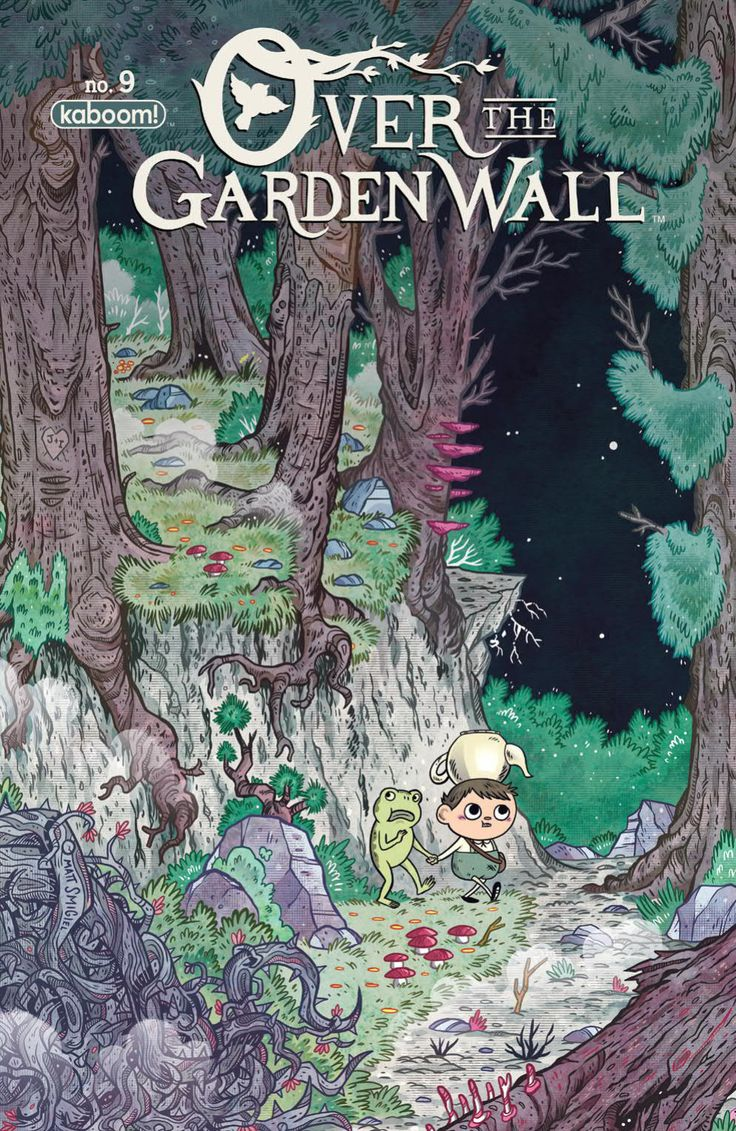 Over the Garden Wall Ongoing (2016) Issue #9
