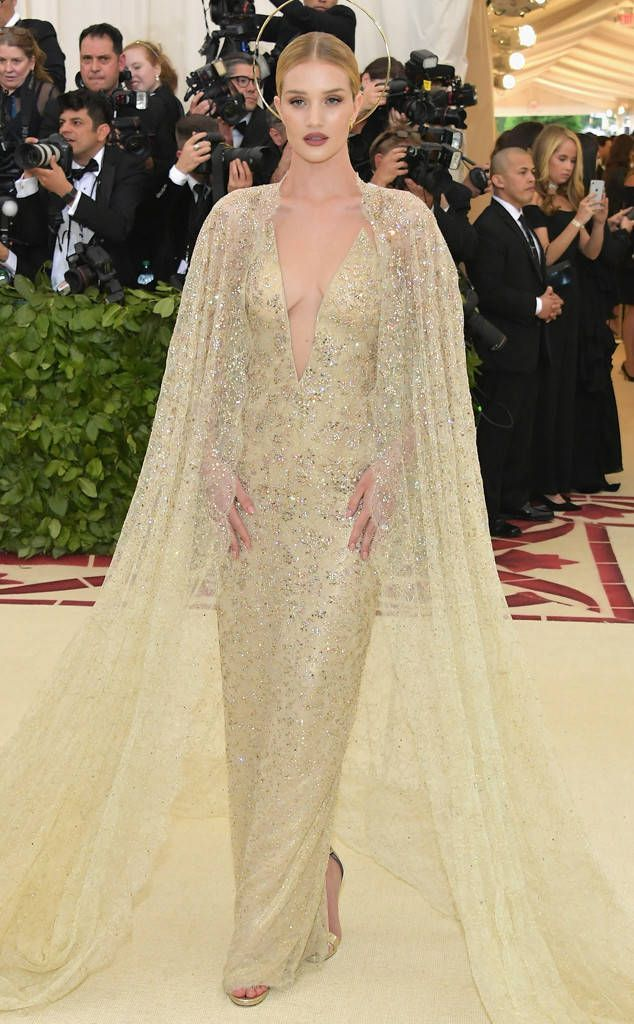 149e0e504 Rosie Huntington-Whiteley from Met Gala 2018  Best Dressed Stars to the Hit  the Red Carpet in 2019
