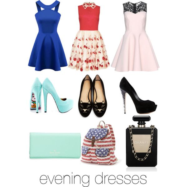A fashion look from February 2015 featuring sleeveless dresses, pink dress and party dresses. Browse and shop related looks.
