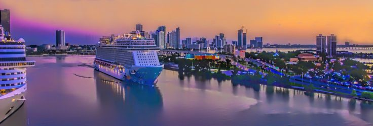 View of the skyline of Miami's Edgewater neiborhood which is located just north of downtown.   by Lago Tanganyika