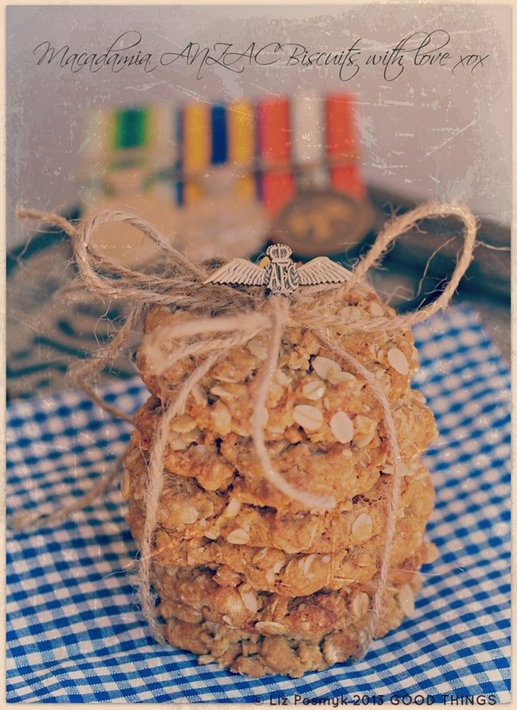 Bizzy Lizzy Good Things ANZAC biscuits
