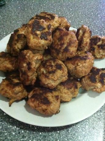 Danish Meatballs (Frikadeller). I wish Mona would just come back and make them for me.