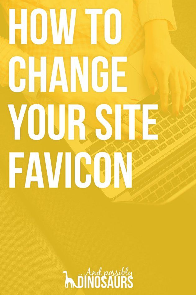 How to Change Your Site Icon