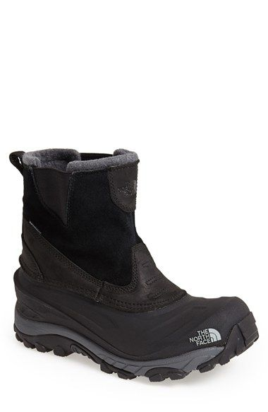 The North Face 'Chilkat II' Waterproof Snow Boot (Men) available at #Nordstrom