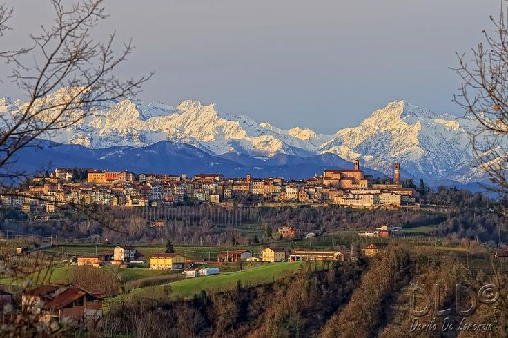 Mondovì and behind the Maritime Alps by dlddanilo