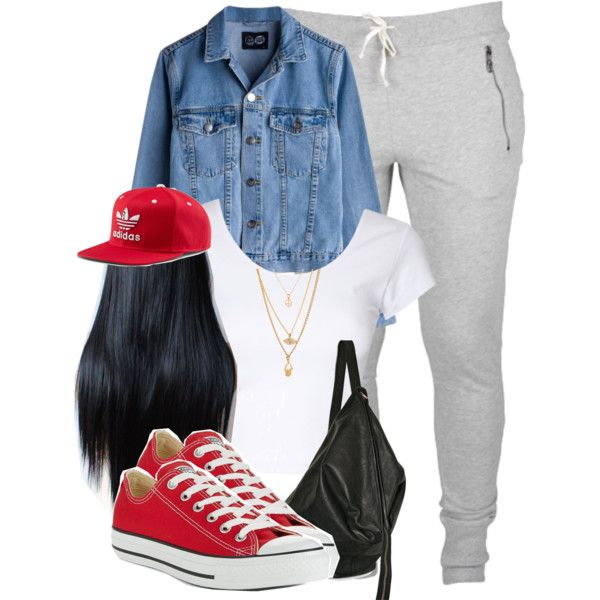 Adidas + Converse. created by cheerstostyle on Polyvore | Girl swagg | Pinterest | Converse ...