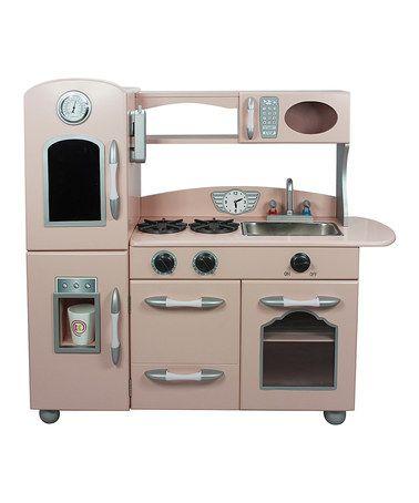 Look what I found on #zulily! Pink Play Kitchen #zulilyfinds