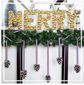 украсить камин к рождеству фото #рождество #новый_год #украшения #хендмейд #дизайн #камин