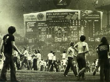Disco Demolition Night at Comiskey Park