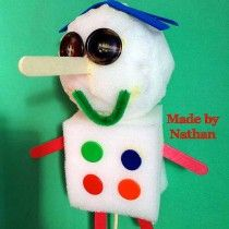 Sensational puppet made by Nathan today at Roxburgh Park Primary School during one of my workshops