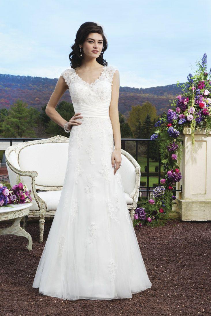 42 best Our wedding dresses images on Pinterest   Wedding frocks ...