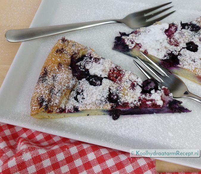 Deze zalige clafoutis is heel makkelijk te maken: ingrediënten door elkaar klutsen, beslag over de vruchten gieten en bakken in de oven. Zo romig!