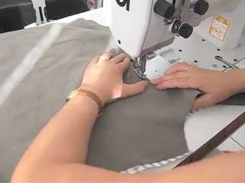 Video Tutorial borsa in tessuto double face - YouTube