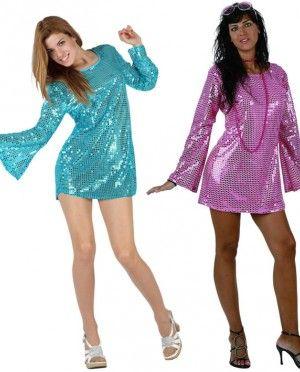 Disfraz de chicas disco para destacara allá donde vayas disfraces disco  moda