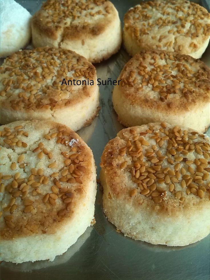 Recetas sin gluten con MIX de harinas básicas : Polvorones y Mantecados de canela y limón
