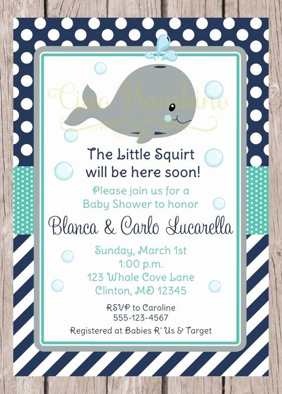 Whale Baby Shower Invitations Top Printable Whale Baby Shower Invitation Navy Blue Gra Whale Baby Shower Invitations Whales Baby Shower Baby Shower Invitations