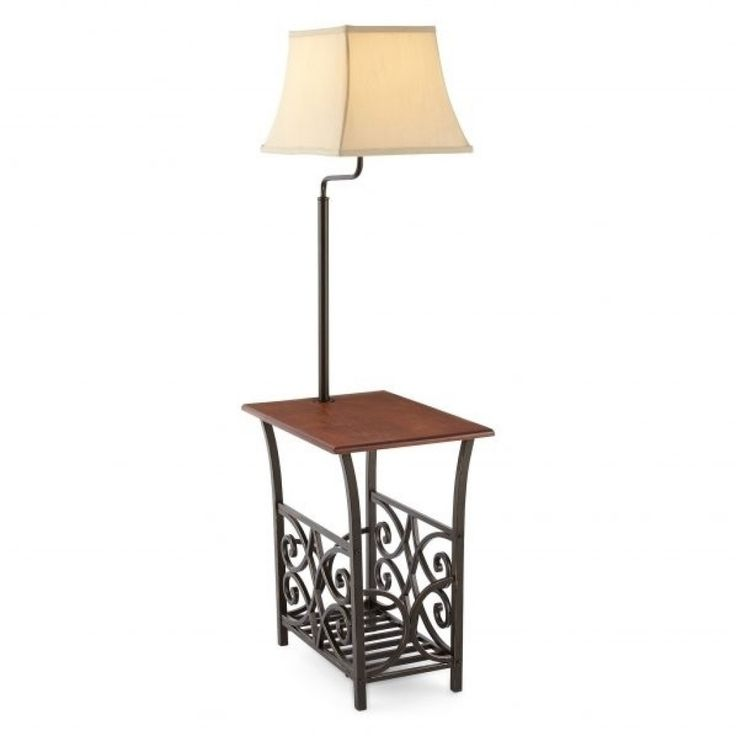 Best 25 end table with lamp ideas on pinterest teak midcentury 50 end table with lamp and magazine rack modern home furniture check more at aloadofball Choice Image