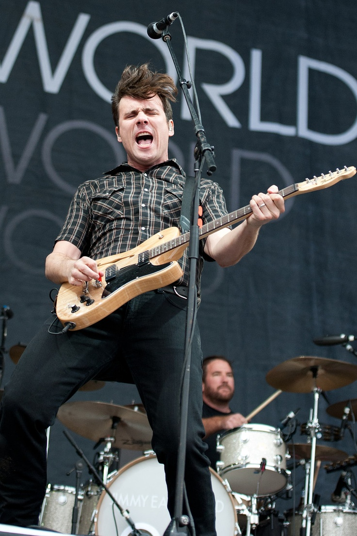 Jimmy Eat World, perhaps the hardest working band in the biz.