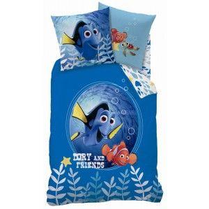 Nemo sengetøj til børn i 100% bomuld